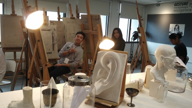 2018-03-17 SCAD Spotlight Day Drawing Workshop